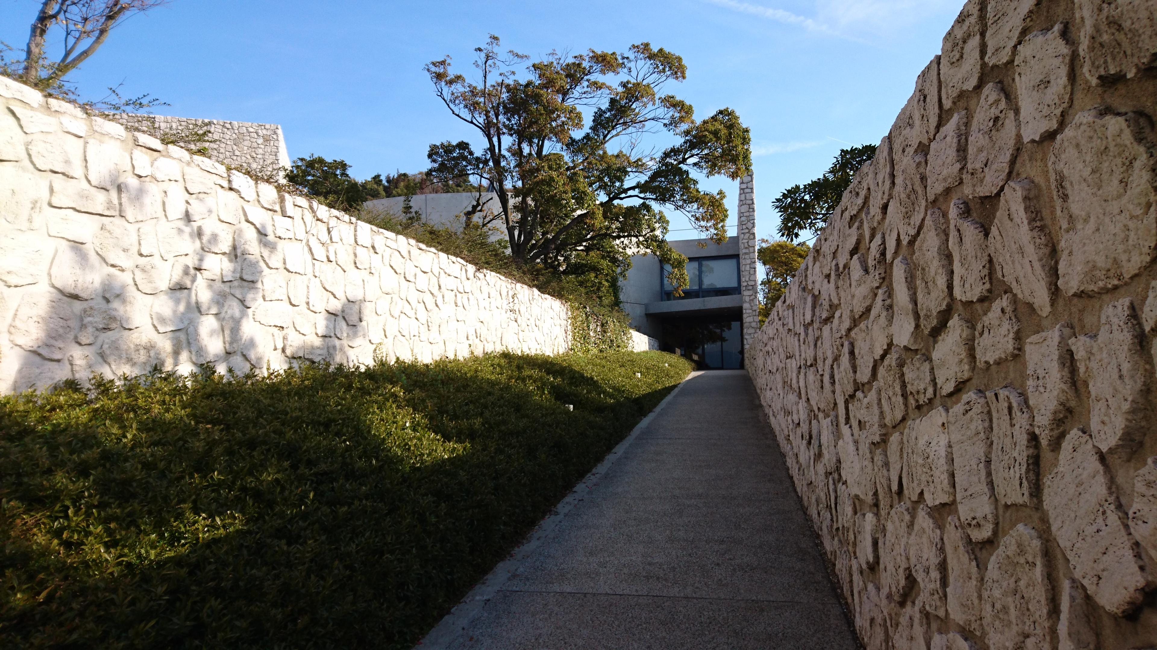 ベネッセハウスミュージアム入り口